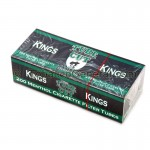 Gambler Tube Cut Filter Tubes King Size Menthol 5 Cartons of 200