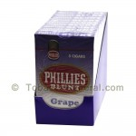 Phillies Blunt Grape Cigars 10 Packs of 5