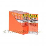 White Owl Cigarillos 10 Packs of 5 Cigars Peach