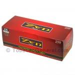 Zen Filter Tubes King Size Full Flavor 1 Carton of 250
