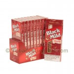 Middleton's Black & Mild Apple Cigars 10 Packs of 5