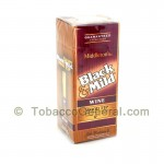 Middleton's Black & Mild Wood Tip Wine Cigars Box of 25