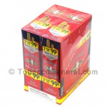 White Owl Cigarillos 99 Cent Pre Priced 30 Packs of 2 Cigars Strawberry