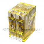 White Owl Cigarillos 1.49 Pre Priced 30 Packs of 2 Cigars Silver