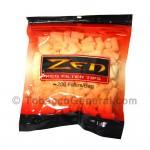 Zen Filter Tips Regular White 200 Tips Per Bag
