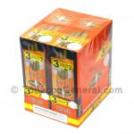 White Owl Cigarillos 3 for 2 Pre Priced 30 Packs of 3 Cigars Peach