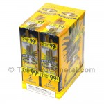 White Owl Cigarillos 99 Cent Pre Priced 30 Packs of 2 Cigars Pineapple