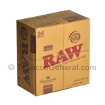 RAW Connoisseur Papers King Size Slim With Tips Pack of 24