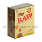 RAW Organic Hemp King Size Slim Pack of 50