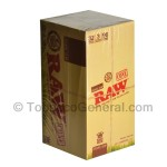 RAW Organic Pre Rolled King Size Cones 32 Packs of 3