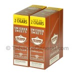 Swisher Sweets Chocolate Cigarillos 30 Packs of 2
