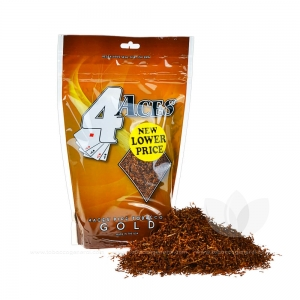 4 Aces Pipe Tobacco Mellow (Gold) 6 oz. Pack