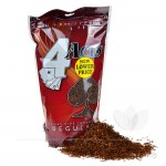 4 Aces Pipe Tobacco Regular (Red) 16 oz. Pack - All Pipe