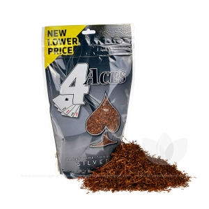 4 Aces Pipe Tobacco Silver 6 oz. Pack