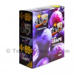 4 Kings Cigarillos 15 Packs of 4 Grape