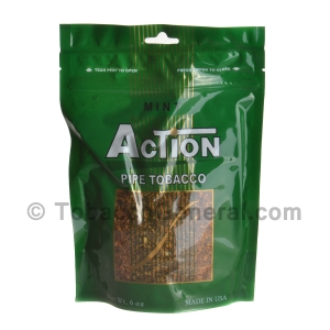 Action Mint Pipe Tobacco 6 oz. Pack