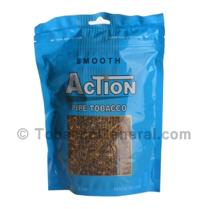 Action Smooth Pipe Tobacco 6 oz. Pack