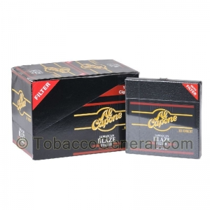 Al Capone Jamaican Blaze Cigarillos 10 Packs of 10