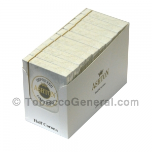 Ashton Half Corona Cigars 10 Packs of 5