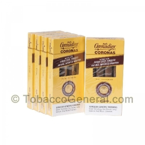 AyC Grenadiers Coronas Dark Cigars 5 Packs Of 4