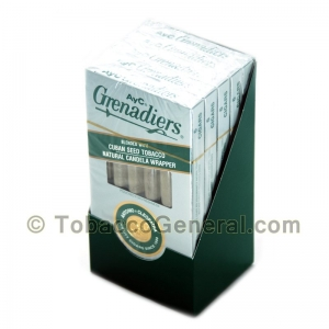 AyC Grenadiers Light Cigars 5 Packs Of 6