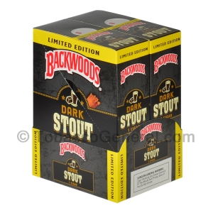 Backwoods Singles Dark Stout Cigars Pack of 24