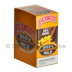 Backwoods Wild & Mild Natural Cigars 8 Packs of 5 - Cigars
