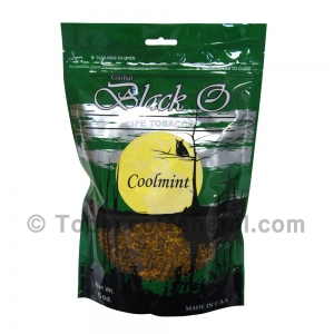 Black O Cool Mint Pipe Tobacco 6 oz. Pack