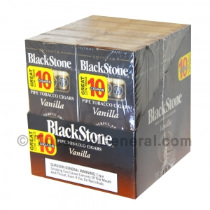 Blackstone Tip Vanilla Cigarillos 20 Packs of 5