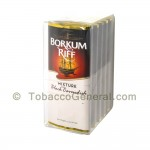 Borkum Riff Black Cavendish Pipe Tobacco 5 Pockets of 1.5