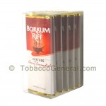 Borkum Riff Cherry Cavendish Pipe Tobacco 5 Pockets of 1.5