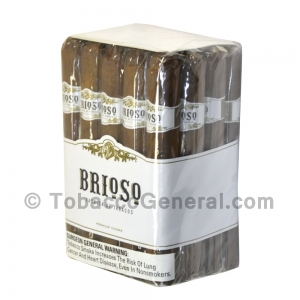 Brioso Toro Natural Cigars Pack of 20