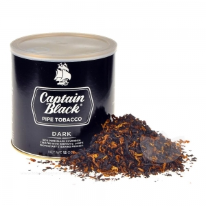 Captain Black Dark Pipe Tobacco 12 oz. Can
