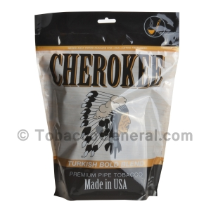 Cherokee Turkish Bold Pipe Tobacco 16 oz. Pack