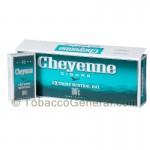 Cheyenne Extreme Menthol Filtered Cigars 10 Packs of 20 - Filtered and