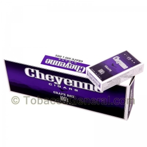Cheyenne Grape Filtered Cigars 10 Packs of 20