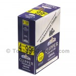 Clipper Cigarillos 4 for 99 Cents Grape 15 Packs of 4