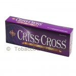 Criss Cross Grape Filtered Cigars 10 Packs of 20 - Filtered and