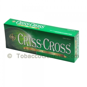 Criss Cross Menthol Filtered Cigars 10 Packs of 20