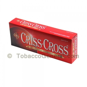 Criss Cross Original Filtered Cigars 10 Packs of 20