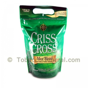 Criss Cross Pipe Tobacco Mint Blend 6 oz. Pack