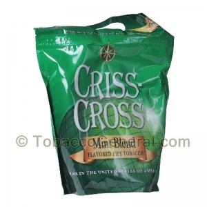 Criss Cross Pipe Tobacco Mint Blend 16 oz. Pack