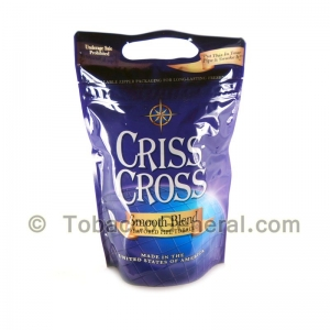 Criss Cross Pipe Tobacco Smooth Blend 6 oz. Pack