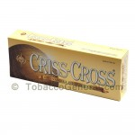 Criss Cross Vanilla Filtered Cigars 10 Packs of 20 - Filtered and