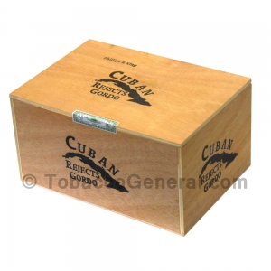 Cuban Rejects Toro Gordo Cigars Box of 50