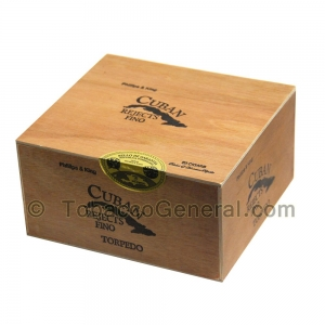 Cuban Rejects Torpedo Connecticut Cigars Box of 50