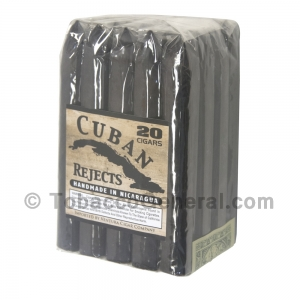 Cuban Rejects Torpedo Maduro Cigars Pack of 20