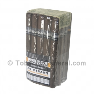 Cuban Rounds Churchill Natural Cigars Pack of 20
