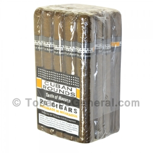 Cuban Rounds Toro Natural Cigars Pack of 20