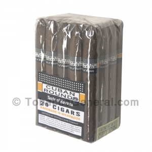 Cuban Rounds Torpedo Natural Cigars Pack of 20